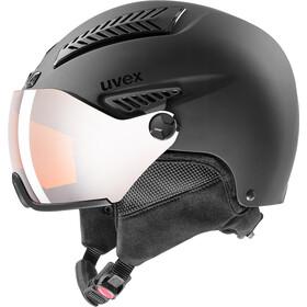 UVEX hlmt 600 Visor Helm, black mat